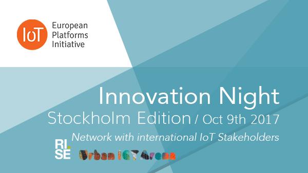 IoT Innovations Night Stockholm